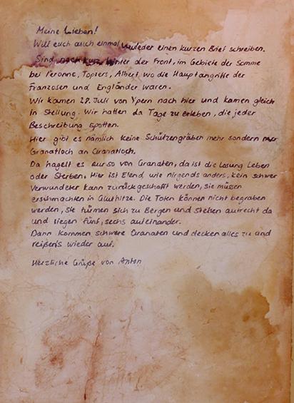 Letter-ID.  von Brief vom Vater, Brenda Sänger, brendasaenger@gmx.de