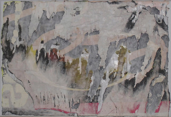 Letter-ID.  von Yang: Rippografie auf Leinwand, 2013, Matthias Gertz, der.matthias@arcor.de