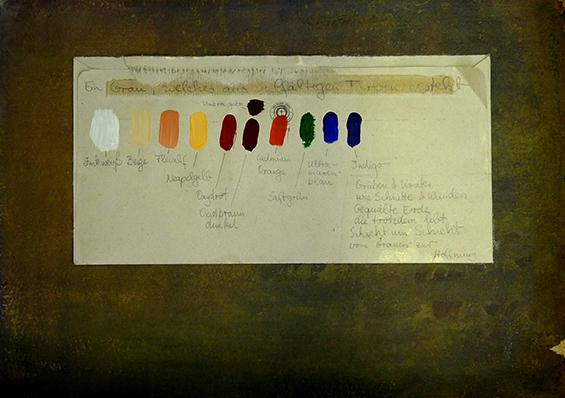 Letter-ID.  von Die Palette zum Schützengraben, Jennifer Leissmann, malerei@leissmann.com
