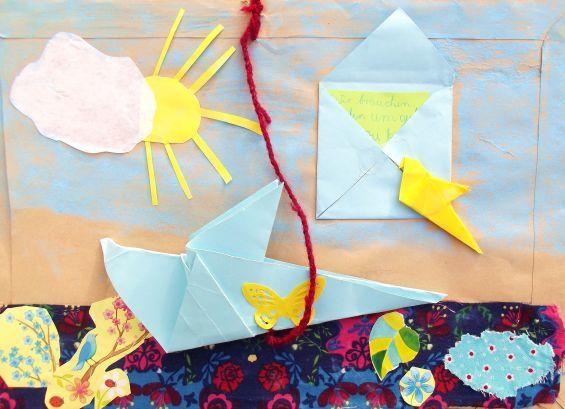 Letter-ID.  von Klasse 5, Friedenstauben