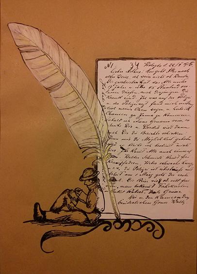 Letter-ID.  von Feldpost und Briefe an die Verwandten, Anastasia Buller, Anastasia_Buller@gmx.de
