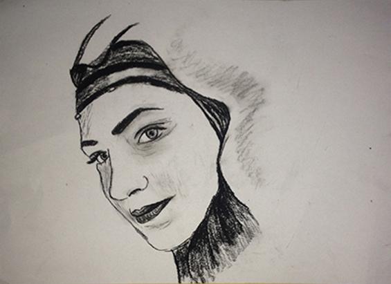 Letter-ID.  von Porträt einer jungen türkischen Frau zur Zeit des Ersten Weltkrieges, Reyhan Dural, rdural@gmx.net