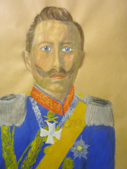 Letter-ID.  von Kaiser Wilhelm II, 1859 - 1941 Michelle Pfingst, Michelle.pfingst@t-online.de