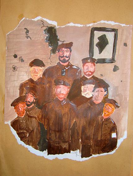 Letter-ID.  von Mein Ururgroßvater mit seinen Kameraden, Friederike Rechner, friedarechner@aol.com