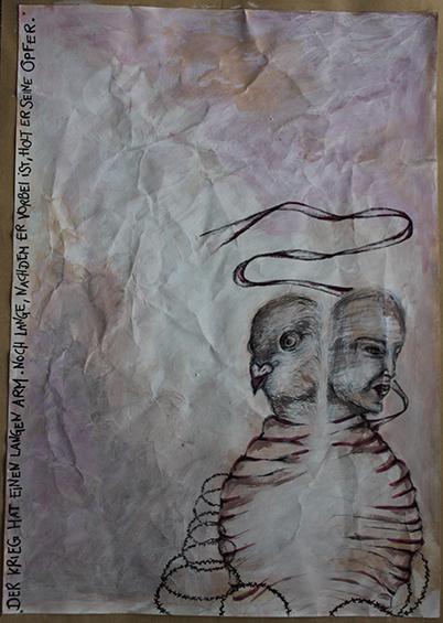 """Letter-ID.  von """"Gefangene Seelen"""", Maria Matic"""
